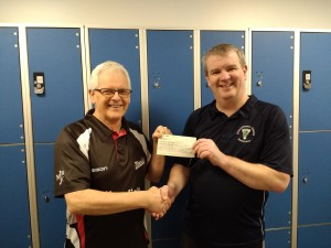 Funding from Notts Badminton Association